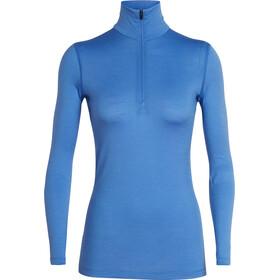 Icebreaker 200 Oasis LS Half Zip Shirt Women cove
